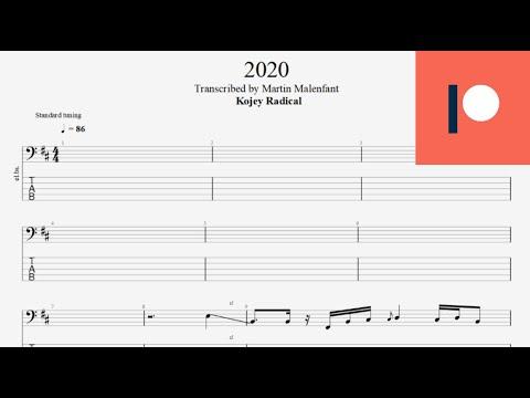 Kojey Radical - 2020 (bass tab)