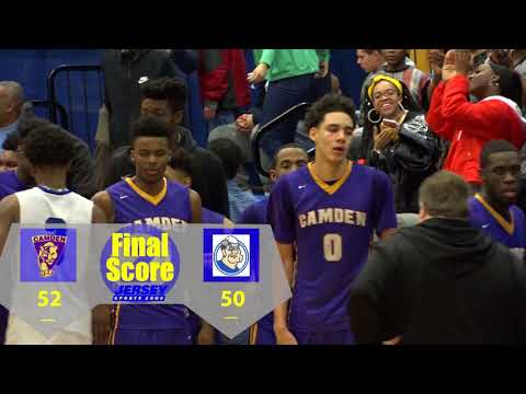 No. 14 Camden 52 Trenton Catholic 50 Boys Basketball highlights