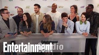 'Supergirl' Cast Teases Calista Flockhart's Return | SDCC 2017 | Entertainment Weekly