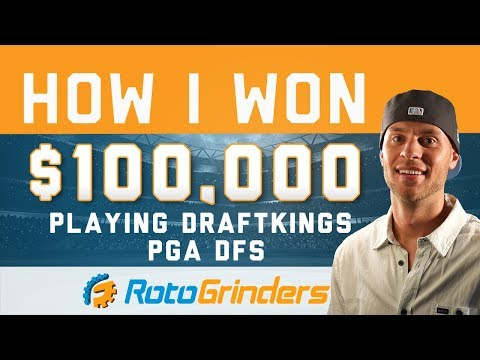 How I Won $100,000 Playing DraftKings PGA DFS