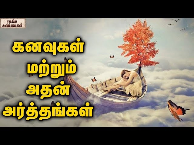 Most Common Dreams And Their Meanings || Unknown Facts Tamil