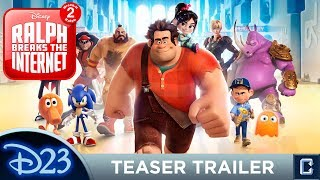 'Wreck-it-Ralph 2: Ralph Breaks the Internet' Teaser Trailer Review - D23 Expo 2017