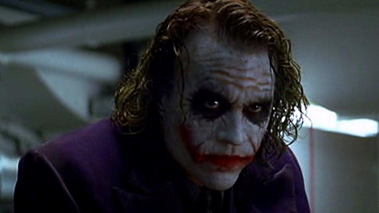 batman movie villains the joker heath ledger youtube