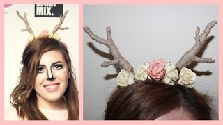 Really Easy Diy Deer Antlers | Ava Drzazgowski