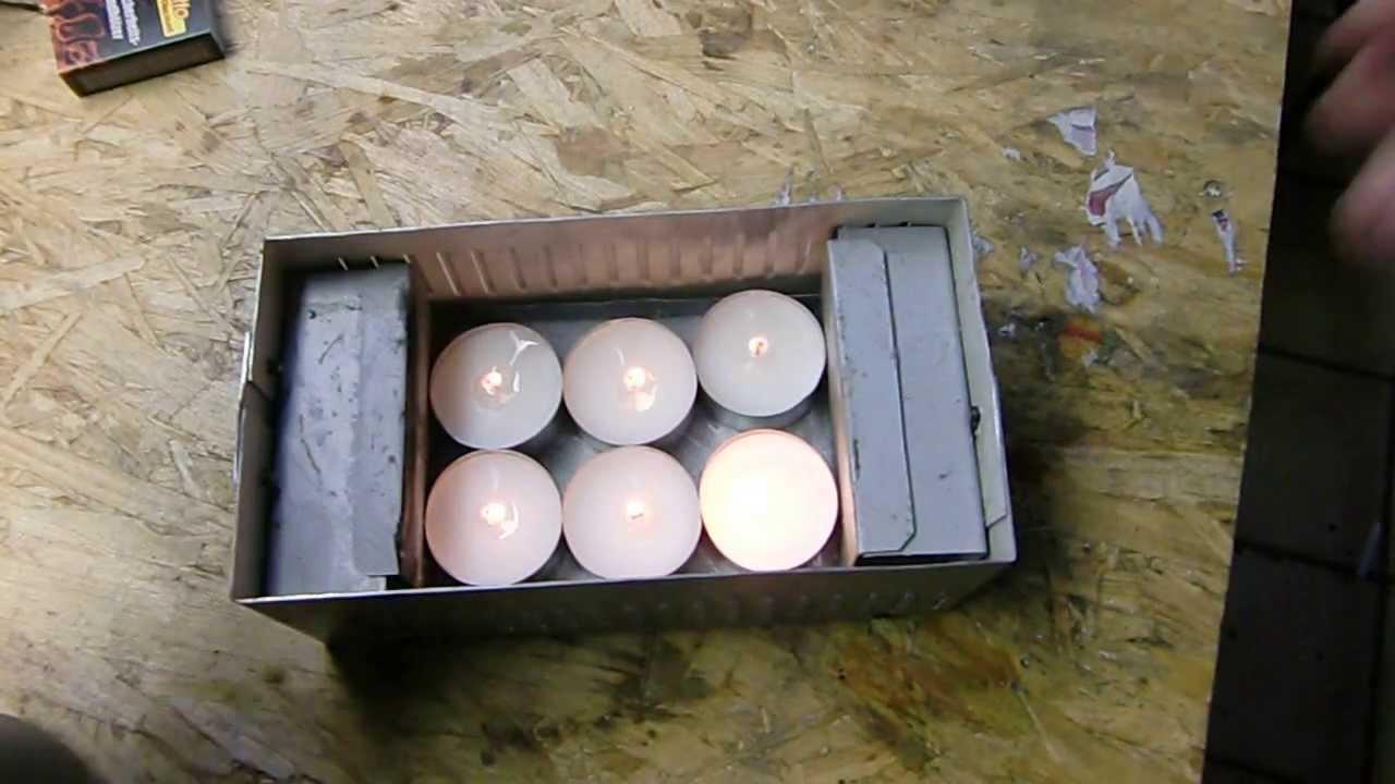 Teelicht Wasserkocher Wasserkocher mitTeelichtern - YouTube