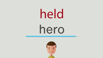 Held Auf Englisch