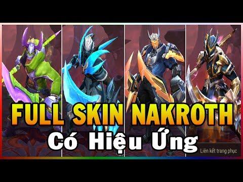 Hướng Dẫn Mod Full Skin Nakroth Có Hiệu Ứng Gốc Và Icon Liên Quân Phiên Bản Xuân Đoàn Kết