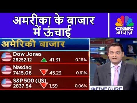 अमरीका के बाजार में ऊंचाई, एशियाई बाजार कमज़ोर | Market Countdown | CNBC Awaaz