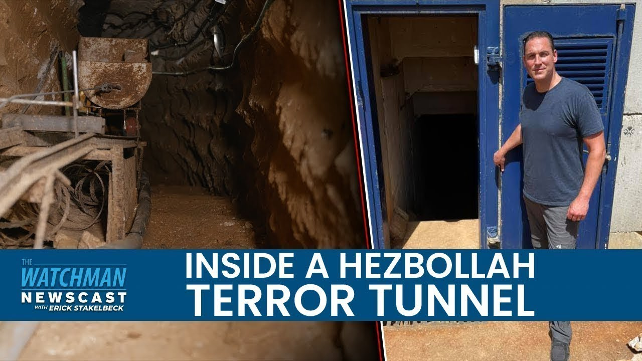 Hezbollah Terror Tunnel on Israel's Border; Exclusive Look with the IDF | Watchman Newscast