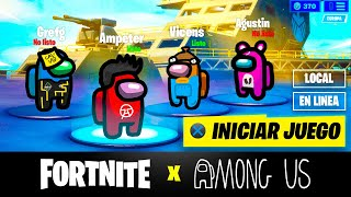 FORTNITE x AMONG US (con el escuadrón)