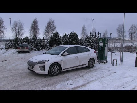 #33 Winter test of Hyundai Ioniq part 1