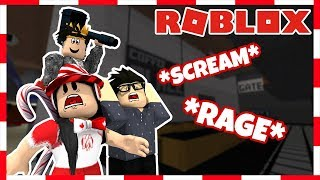 ROBLOX | SCREAMING ON FLEE PART 2 (Ft. PeetahBread and FroggyHopz)