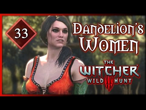 Witcher 3 ► All of Dandelion's Women [I Need Baroness la Valette Romance!] #33