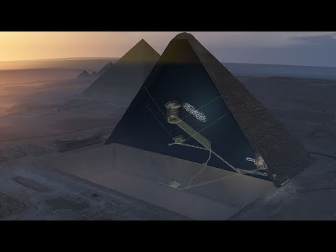 Plane-sized 'void' discovered in Great Pyramid, say scientists