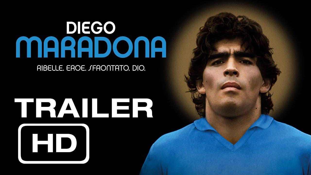 DIEGO MARADONA: Al cinema 23-24-25 settembre - YouTube