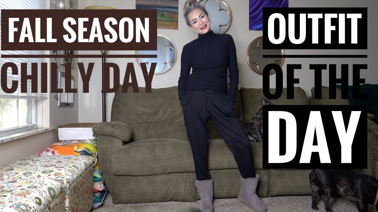 [VIDEO] - FALL SEASON CHILLY DAY OOTD   FALL FASHION   WHAT I WEAR ON A CHILLY DAY IN FALL SEASON 5