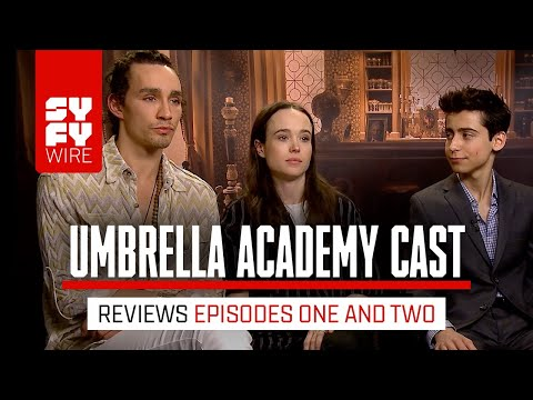 Umbrella Academy Cast Reacts To Episodes 1 & 2 | SYFY WIRE