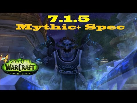 7 1 5 Frost Dk Dps Mythic Plus Breath Spec 700k Consistency 886ilvl Youtube