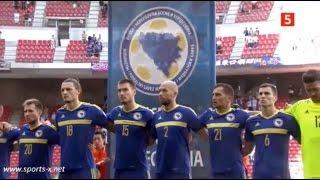 Bosnia-Herzegovina national anthem (Kirin Cup 2016 v Denmark)