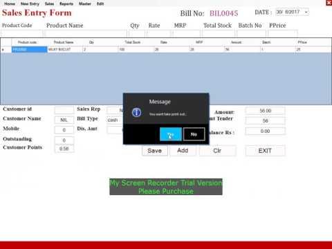 Billnus billing software demo