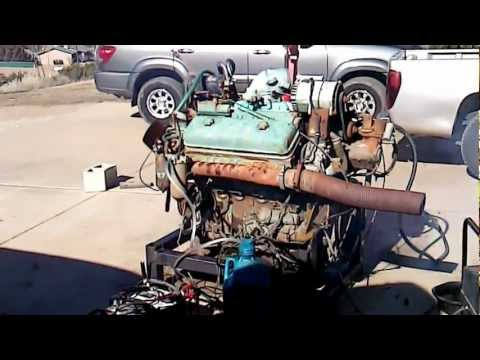 Detroit 8v71 runs after 40 years of sitting!