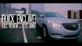 2015 Buick Enclave 3.6L V6 Start Up, Test Drive, and Review
