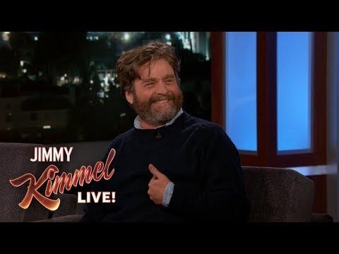 Zach Galifianakis on David Letterman & ALF