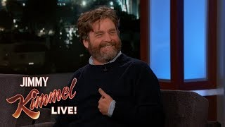 Zach Galifianakis on David Letterman & ALF