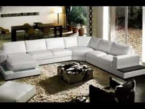 Muebles modernos youtube for Sofas grandes modernos