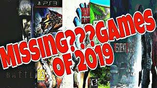Where Are These Games??? |Missing Games Of 2019| Hindi Review