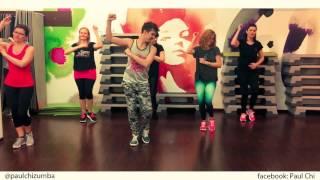 Prince Royce ft. Shakira - Deja vu - Bachata - Zumba fitness choreo