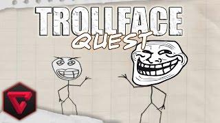 """ME TROLLEAN ÉPICAMENTE T-T   """"Trollface Quest"""""""