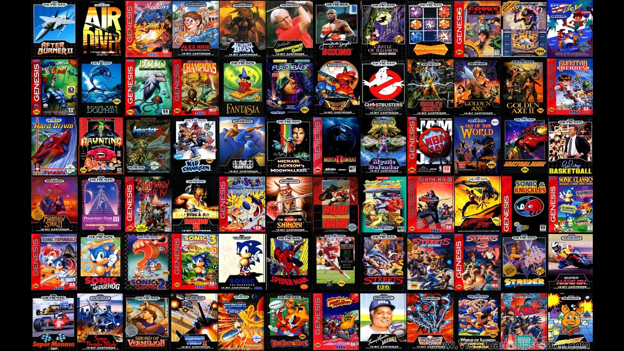 list of genesis games