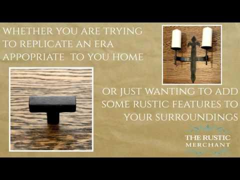 Rustic Furniture Fittings UK & France | The Rustic Merchant