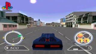 Auto Destruct (PS1 Gameplay)
