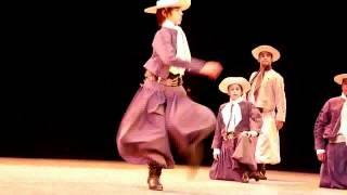 Demostración de Baile Argentino (Gaucho) - Gala de Argentina en el Festival del Caribe 2012