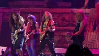 Iron Maiden - The trooper (Antwerp Sportpaleis 2017)