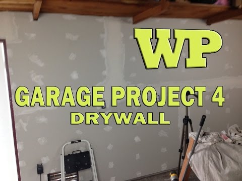 Garage Project 4 – Drywall