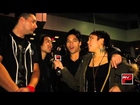 Interview with @Victorquest @D_Trix at @VibeDanceComp 2013