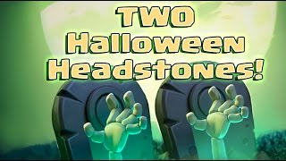 Clash of Clans - Two Halloween Headstones Today!