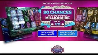 Zodiac Casino 80 Free Spins