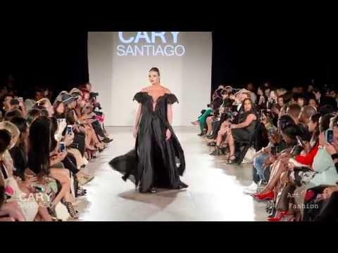 Cary Santiago at Art Hearts Fashion NYFW