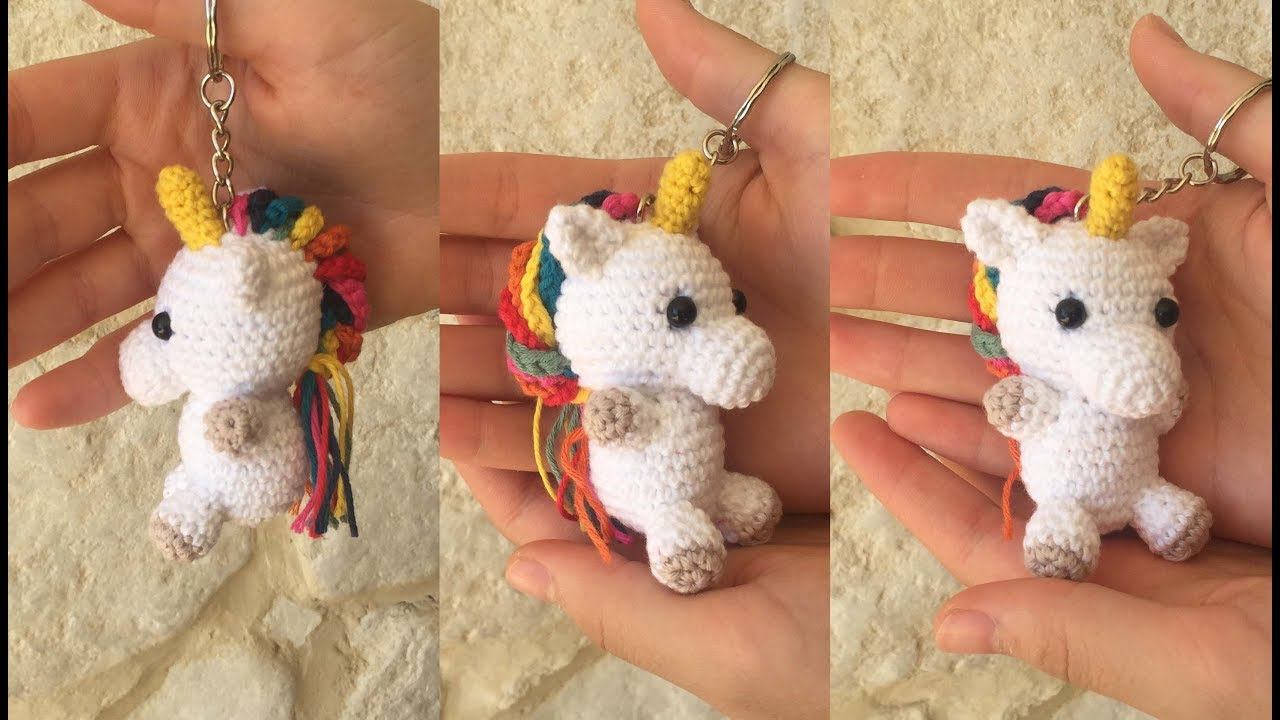 Free Crochet Unicorn Pattern - thefriendlyredfox.com | 720x1280