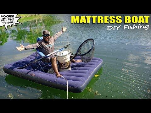 air-mattress-bass-fishing-diy-setup-|-monster-mike
