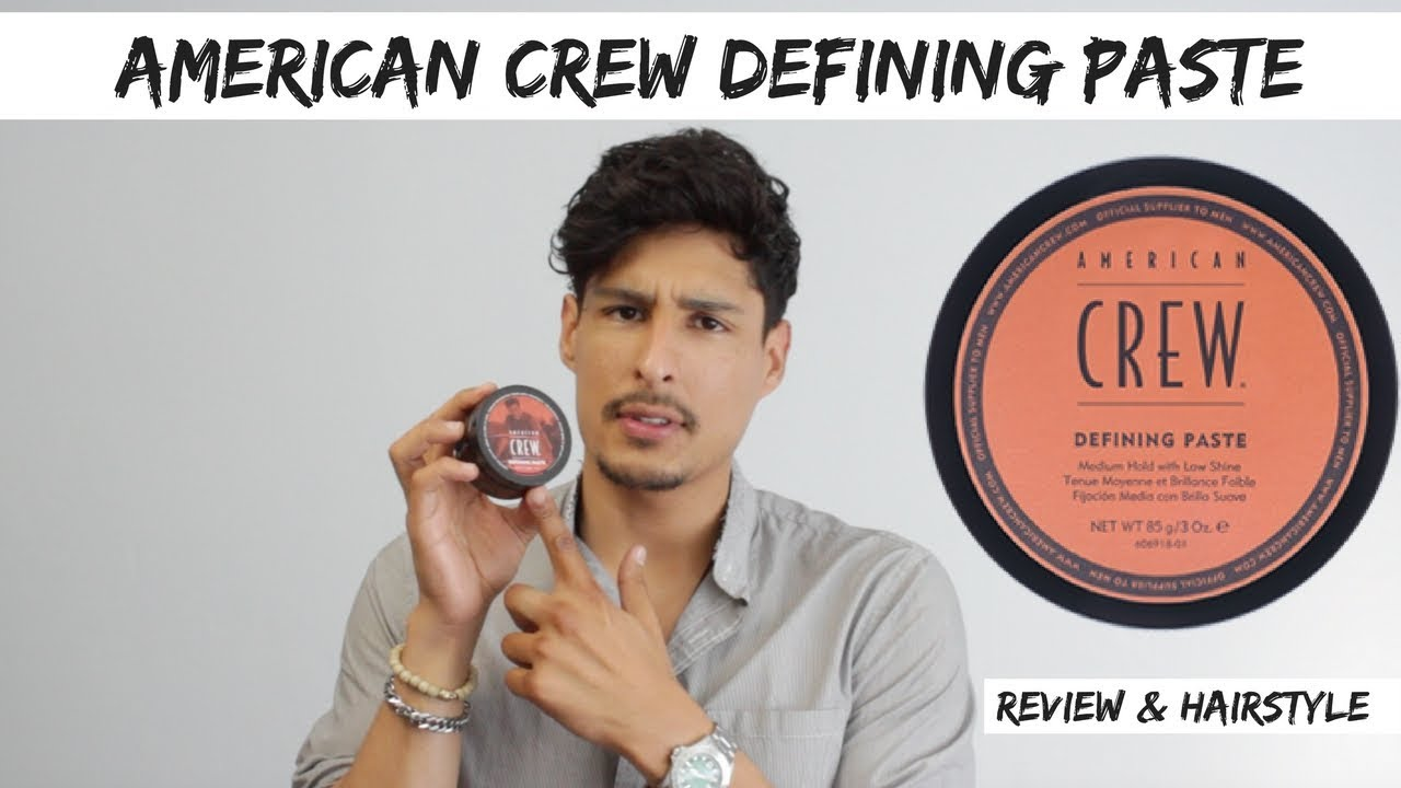 American Crew Defining Paste Hairstyle Review