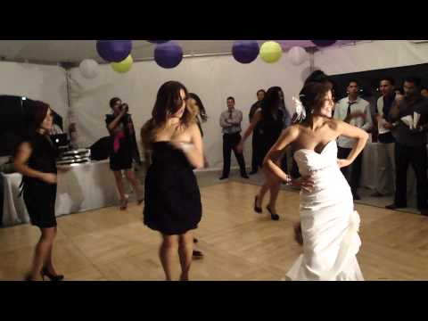 FLASH MOB DANCE at Anjelah and Manwell's wedding