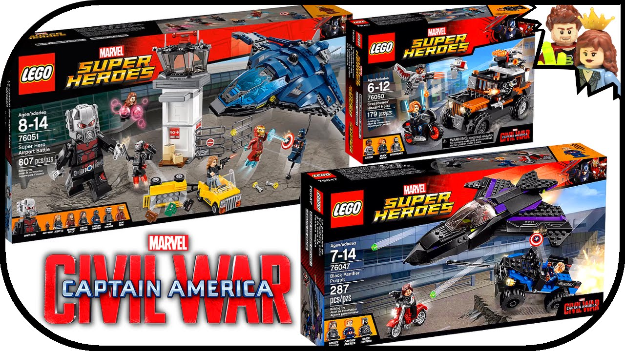 marvel lego 2016 civil war