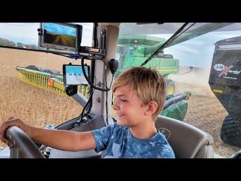 10 Year Old Grain Cart Driver