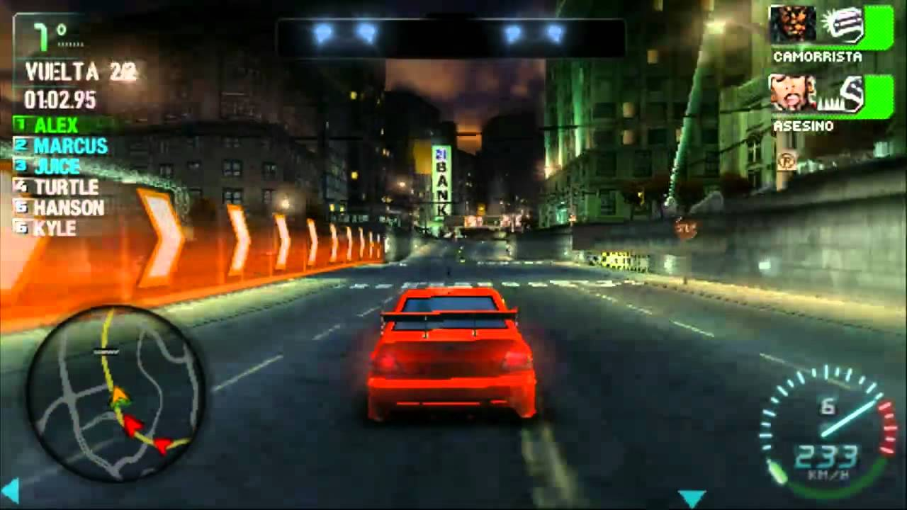 Hd Need For Speed Carbon Own The City Gameplay Descarga Psp