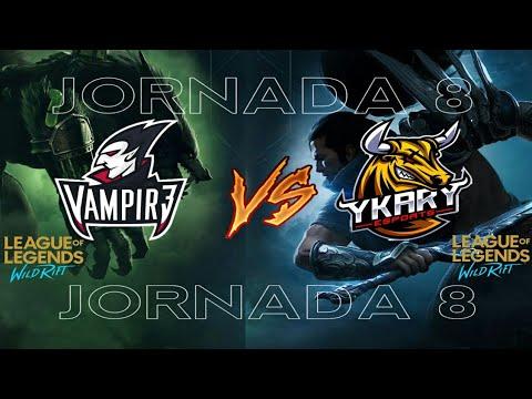 Wild Rift COMPETITIVO | V3 vs YKY | Liga Europea (Map2j8)